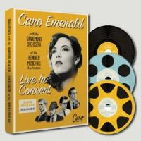 Cover Caro Emerald with The Grandmono Orchestra - Live In Concert At The Heineken Music Hall Amsterdam [DVD]